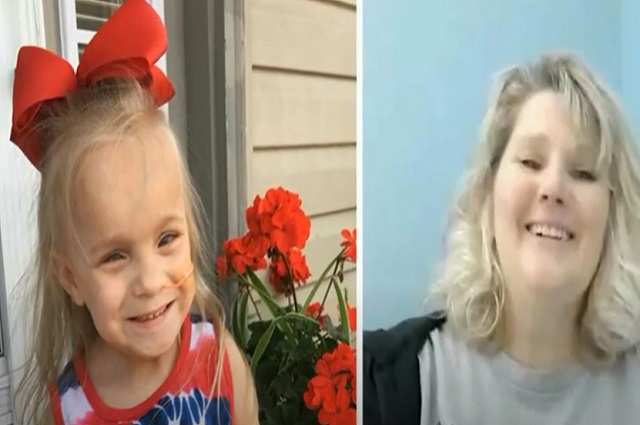 Maestra decide donar un riñón a su alumna de 5 años