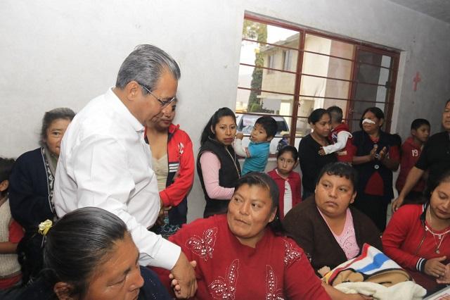 Mejorar condiciones laborales de maestros, plantea Jiménez Merino