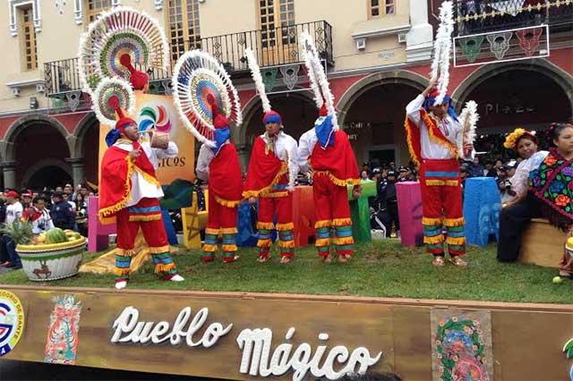 Promocionan Pueblos Mágicos en desfile del 16 de Septiembre