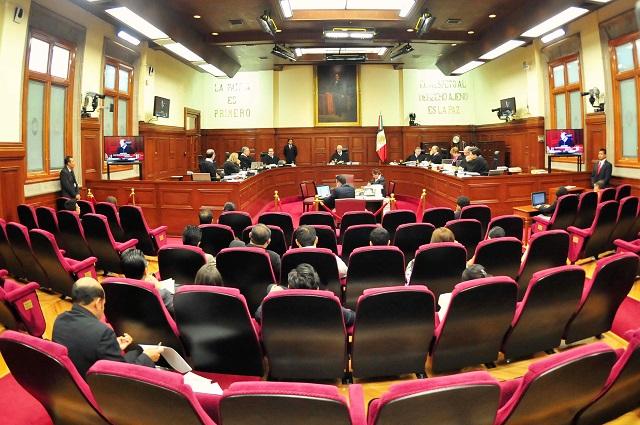 El magistrado de la SCJN suspendido es Jorge Arturo Camero, revelan