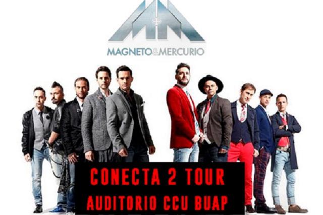 Magneto y Mercurio en el CCU BUAP este sábado 22 de junio 20:30 hrs.