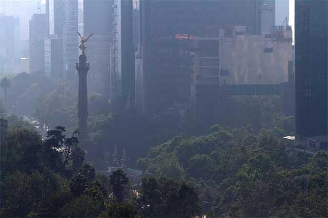 Reportan mala calidad del aire en 5 zonas del Valle de México