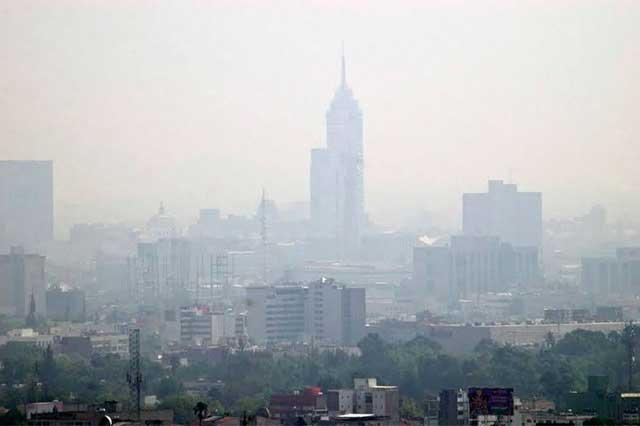 Pronostican que hoy habrá mala calidad del aire en la Ciudad de México