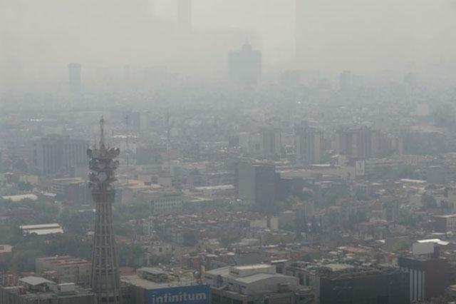 Empeora la calidad del aire en la Ciudad de México