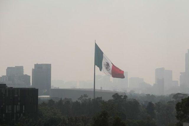 Persiste la mala calidad del aire y continúa la contingencia en la CDMX