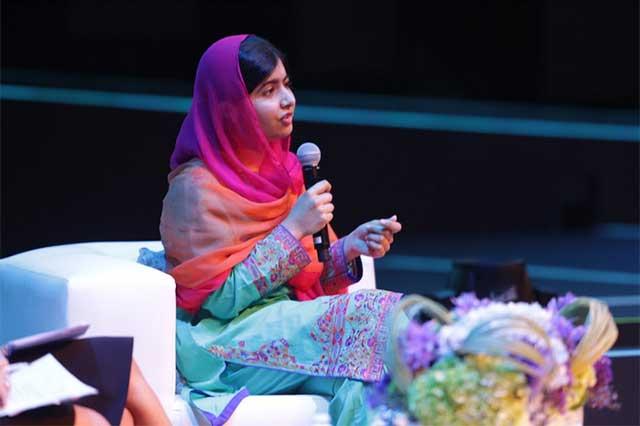 Dos millones de niñas en México no van a la escuela, lamenta Malala