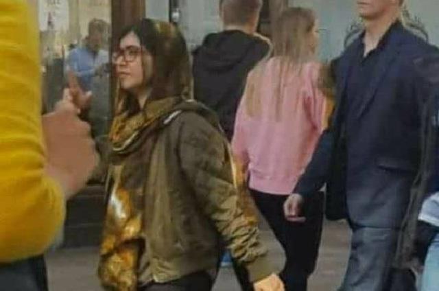 ¿Malala, la ex actriz porno Mia Khalifa o quién es la chica de la foto?