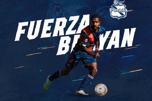 Más malas noticias en el Puebla: Brayan Angulo fuera 6 meses