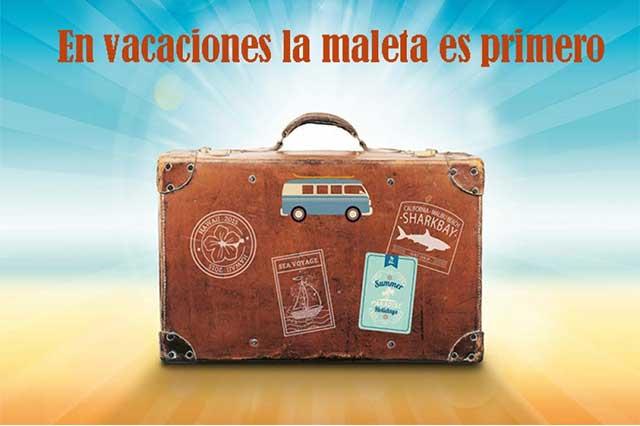 Tips para saber qué llevar en la maleta para las vacaciones