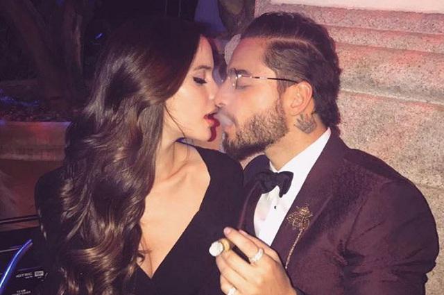 Maluma festeja cumpleaños junto a su novia Natalia Barulích