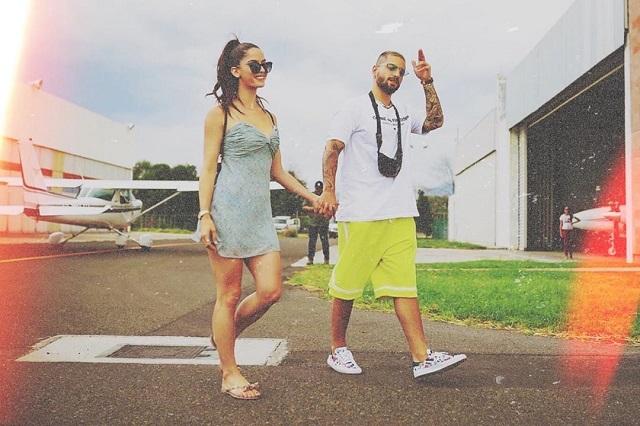 Así celebraron Maluma y Natalía Barulích 2 años de noviazgo