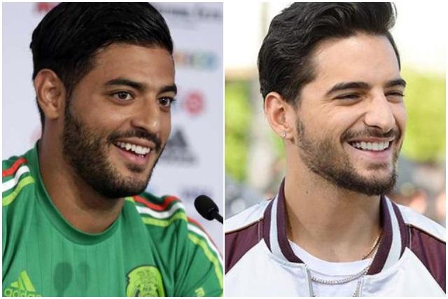 ¿Carlos Vela y Maluma son la misma persona?