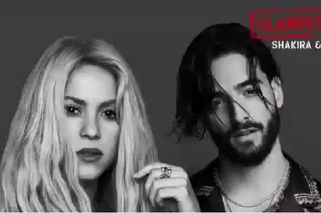 Filtran Clandestino, el nuevo sencillo de Shakira y Maluma