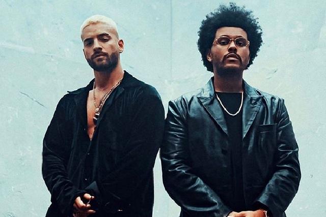 Maluma y The Weeknd lanzan videoclip del remix de Hawái