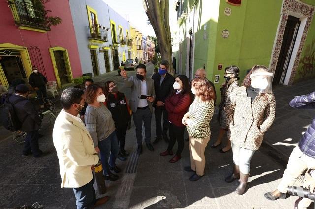 Rehabilitará gobierno capitalino barrio de Los Sapos con 2.2 mdp