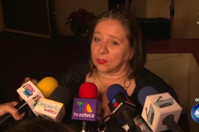 El que se lleva se aguanta, dice Geraldine Bazán a su mamá