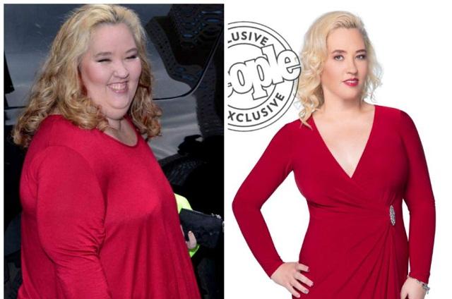 Mama June sorprende con su nueva imagen: bajó 136 kilos