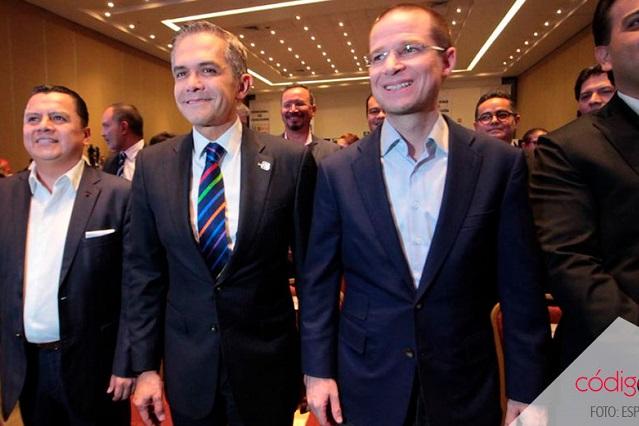Nombra el Frente a Mancera coordinador del gobierno de coalición