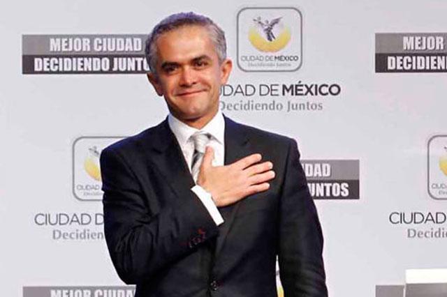 El PAN exige que Mancera explique su patrimonio y fotomultas