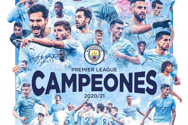 Manchester City es nuevo campeón de la Premier League