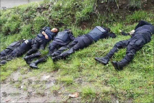 Investigar asesinato de policías de Amozoc, demanda la CNDH