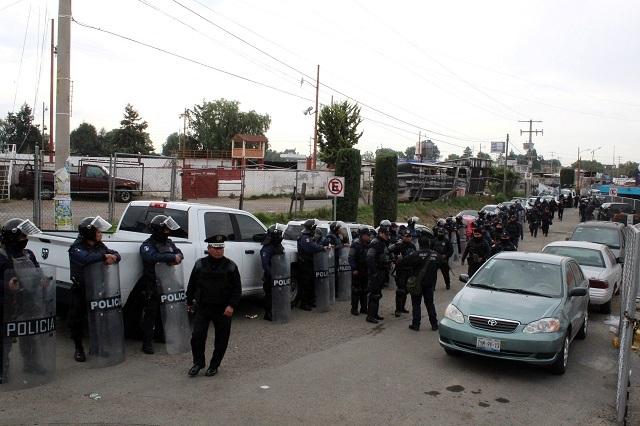 Agregan delitos contra mandos policiacos de Texmelucan