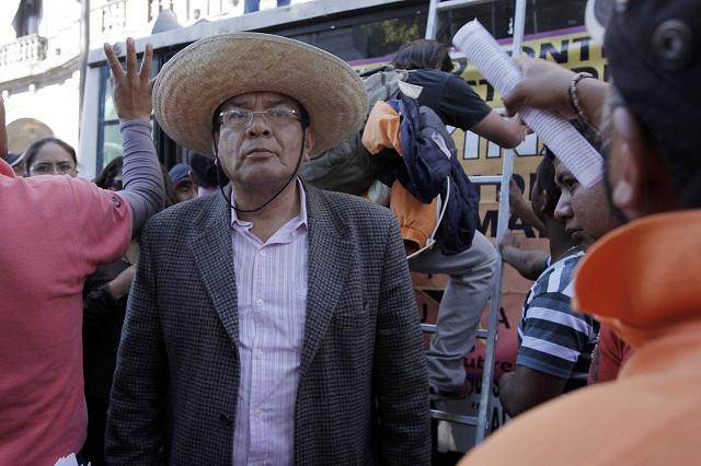 Simitrio sigue preso porque no aceptó condiciones de RMV, dice legislador