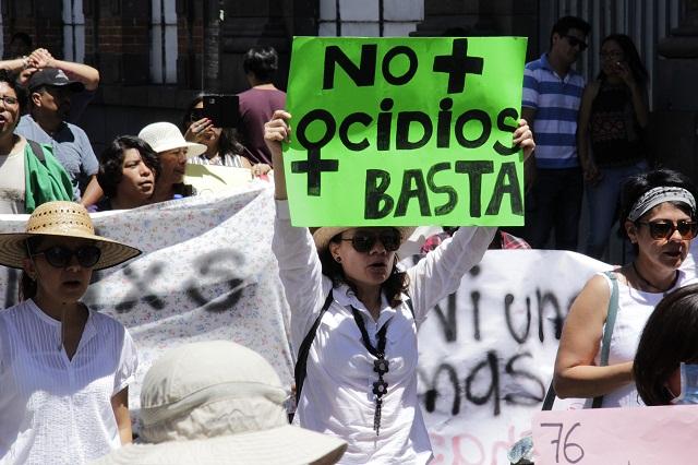 Contra violencia feminicida, CNDH pide alerta de género para Puebla