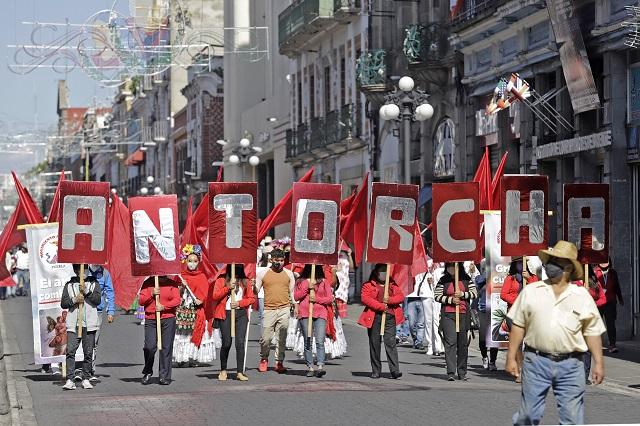 Antorcha denuncia a Barbosa en la CDH por acoso y persecución