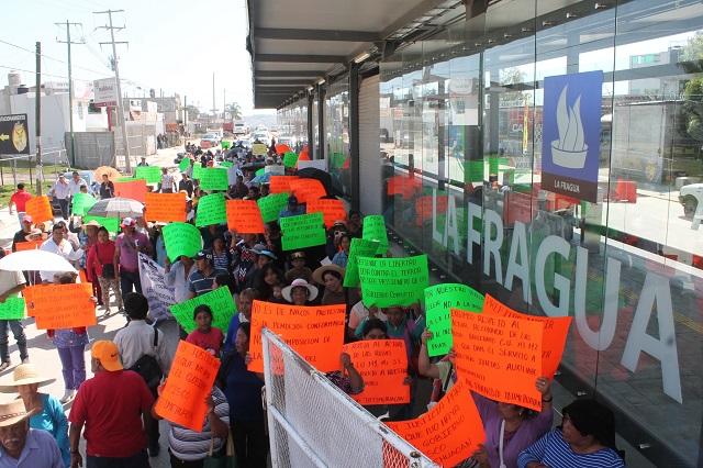 Protestan por arranque de RUTA 3 y el gobierno defiende ventajas