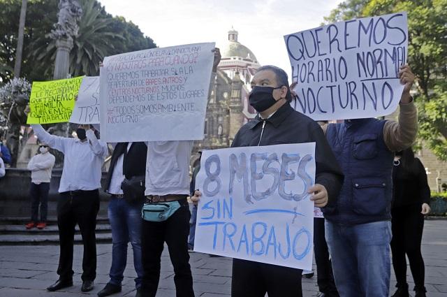 Por Covid, piden antros condonar pago de licencia anual en Puebla