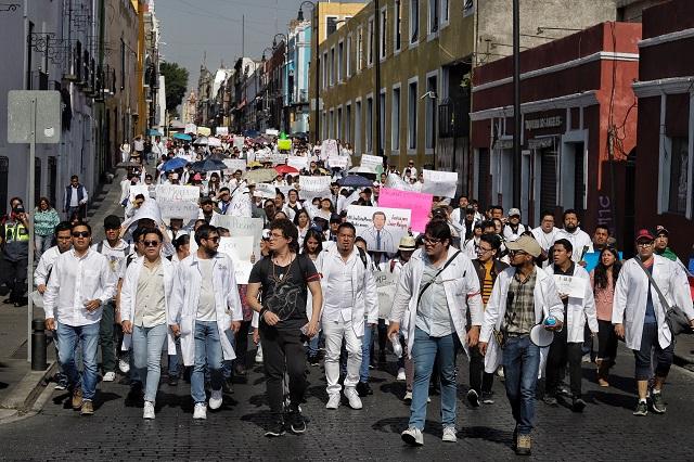 Marchas universitarias sin riesgo de coronavirus: alumnos