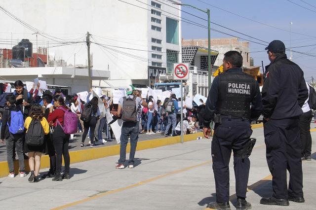 Banda en Huejotzingo será desarticulada: Barbosa