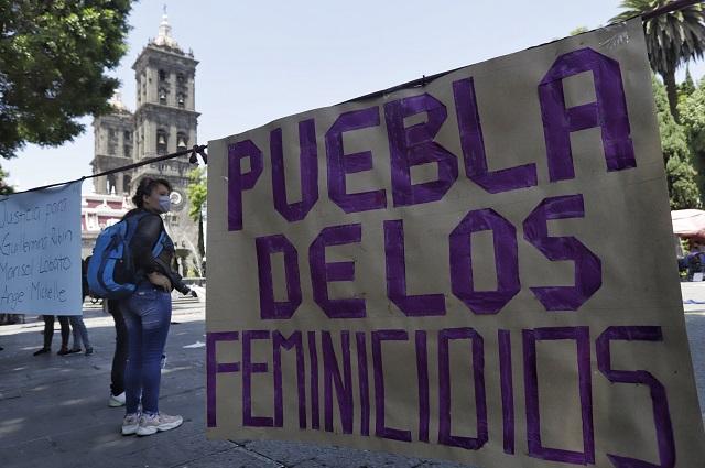 Ahora es Puebla cuarto sitio con más feminicidios en el país