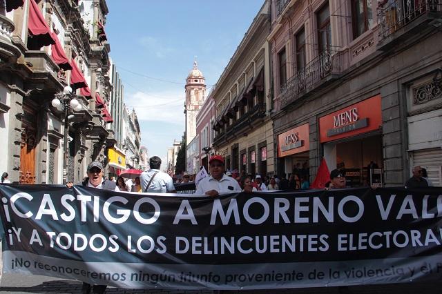 #NoAlFraudeDeMorenoValle es tendencia en redes
