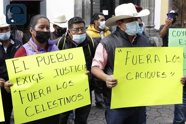 Ante CDH denuncian detenciones arbitrarias en Coyomeapan
