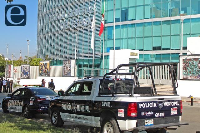 Vinculan a proceso a 5 policías municipales de Puebla