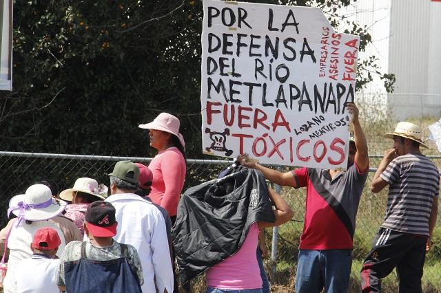 Ex director de CEASPUE hace el desagüe en Huejotzingo, acusan