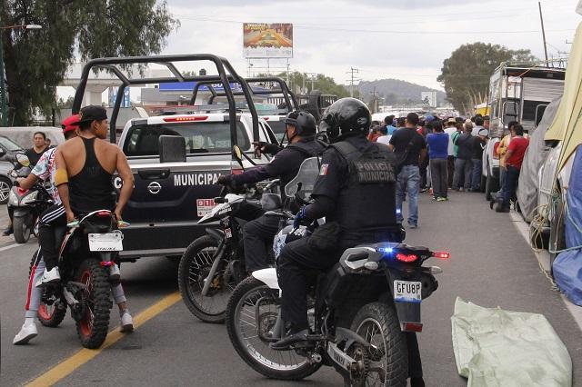 Llega a Puebla exlíder del tianguis de San Martín detenido en Yucatán