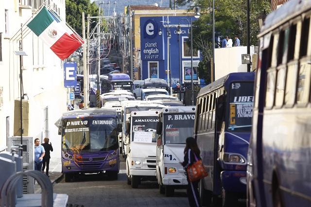 Descarta Gali aumento en tarifas del transporte público