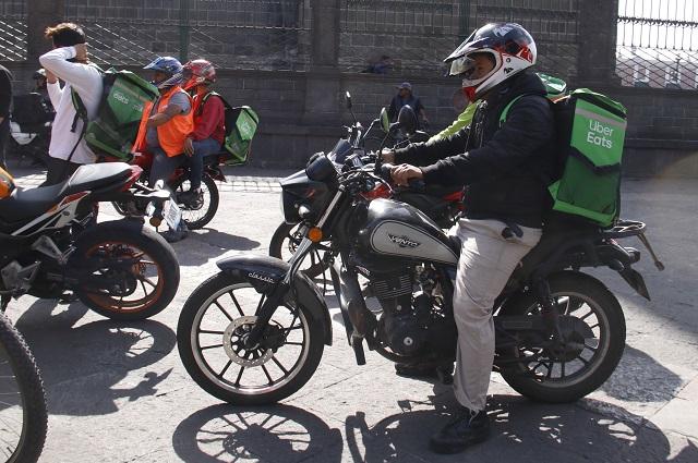 Uber Eats y Rappi mantienen a flote a restaurantes en Puebla