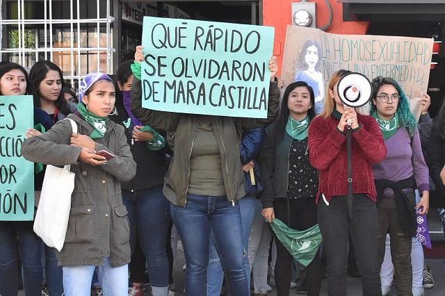 Por sospechas de Covid-19 difieren juicio por feminicidio de Mara Castilla