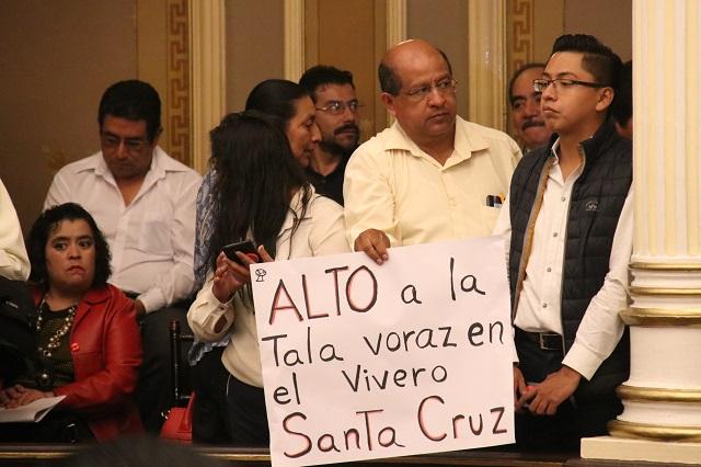 Ve Mastretta viable expropiar Vivero Santa Cruz Guadalupe