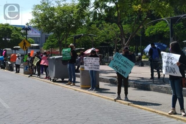 Estudiantes de Tehuacán piden vacuna anticovid