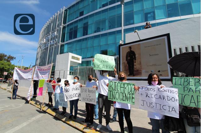 Piden ante FGE proceso justo a detenidos por helicopterazo