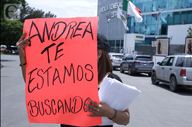Por desaparición de Claudia Andrea Ramos, operativo de FGE