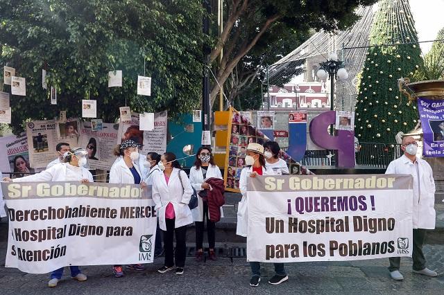 Médicos exigen a Barbosa cesar ataques y criminalización