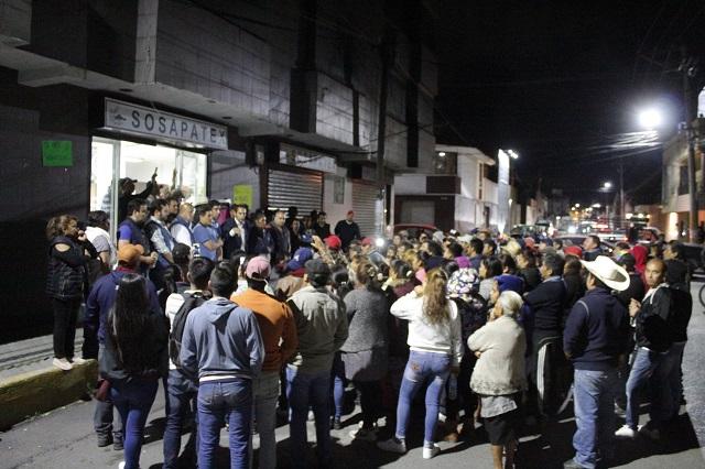 Acusan funcionarios de Texmelucan persecución de la alcaldesa Layón