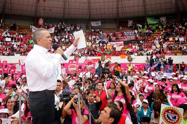 Condena Beltrones boicot a campaña de Alcalá