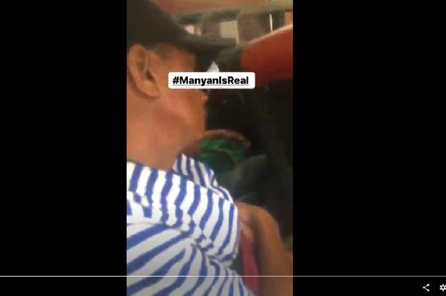 Se hizo el dormido para manosear a una chica en el transporte público